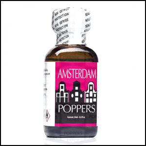 flacon de Poppers Amsterdam
