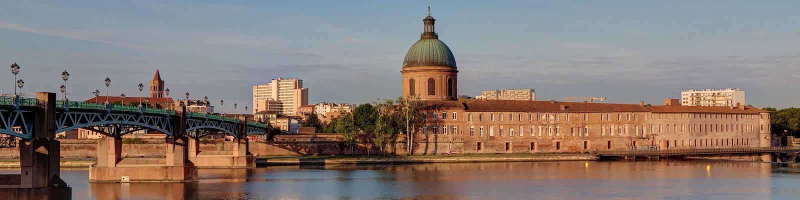 la ville rose le surnom de Toulouse ma ville